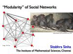 """""""Modularity"""" of Social Networks"""