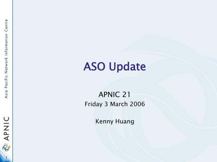 aso update n.
