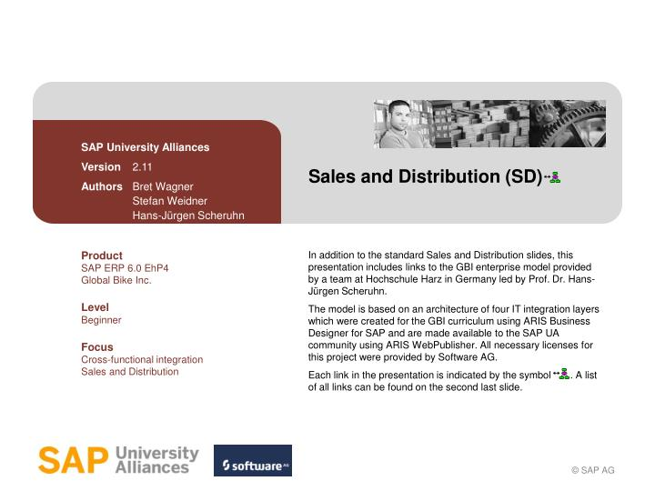 sales and distribution sd n.