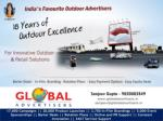 Outdoor Advertising for election Campaigns in Mumbai - Globa